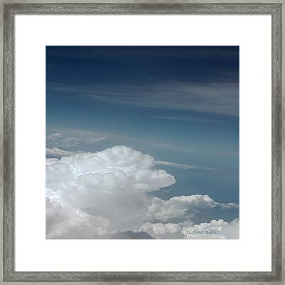 From The Heavens Above Framed Print by DigiArt Diaries by Vicky B Fuller