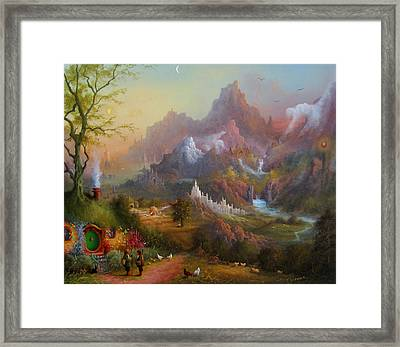 From The Shire To The Sea Framed Print by Joe  Gilronan