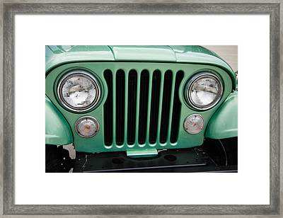 Front End Close-up Framed Print by Seth Solesbee