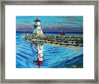 Front Range Light Framed Print by Phil Chadwick