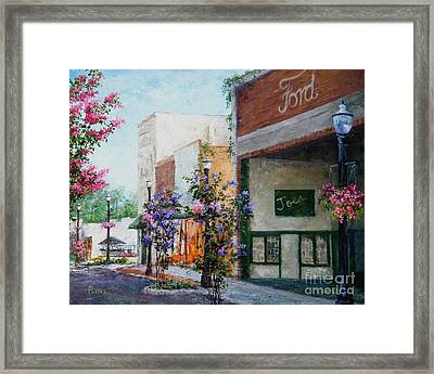 Front Street Framed Print by Virginia Potter