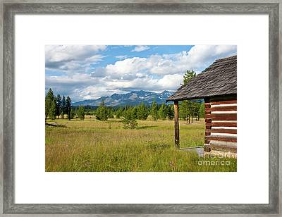 Front Yard Framed Print by Katie LaSalle-Lowery