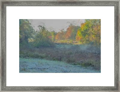 Frost On The Meadows Framed Print by Bill McEntee
