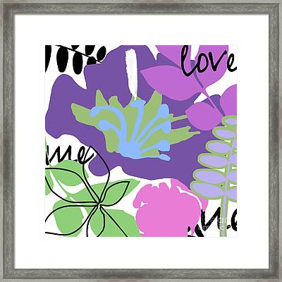 Frou Frou II Framed Print by Mindy Sommers