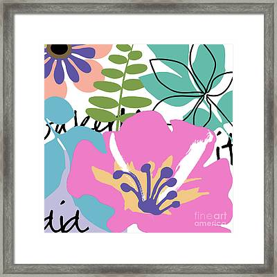 Frou Frou Framed Print by Mindy Sommers