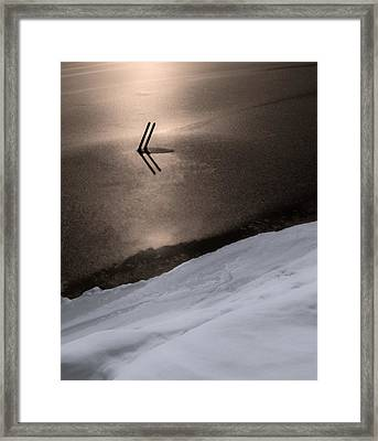 Frozen In Time Framed Print by Don Spenner