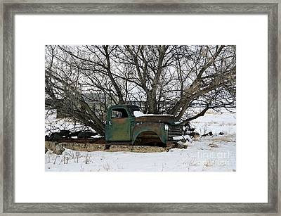 Frozen Memories  Framed Print by Chalet Roome-Rigdon