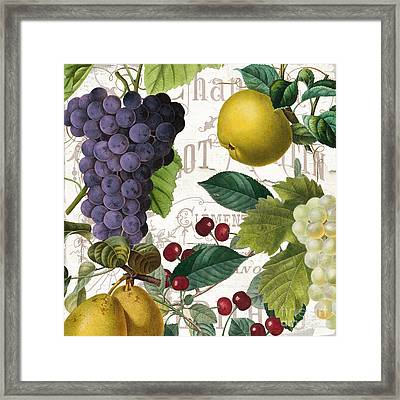 Fruit Bowl I Framed Print by Mindy Sommers