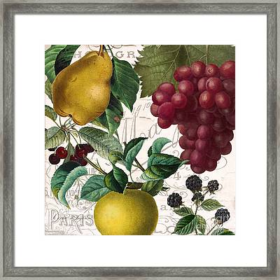 Fruit Bowl II Framed Print by Mindy Sommers