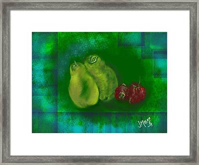 Fruit Framed Print by Jessica Mason