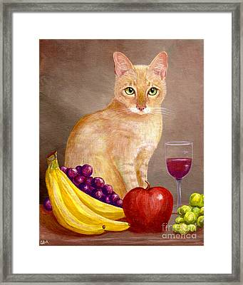 Fruit Of The Spirit Framed Print by Lisa  Adams