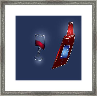 Fruit Of The Vine Framed Print by John Krakora