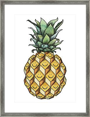 Fruitful Framed Print by Kelly Jade King