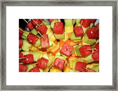 Fruity Framed Print by Kristin Elmquist