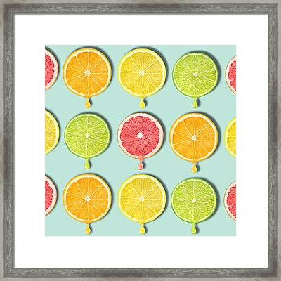Fruity Framed Print by Mark Ashkenazi