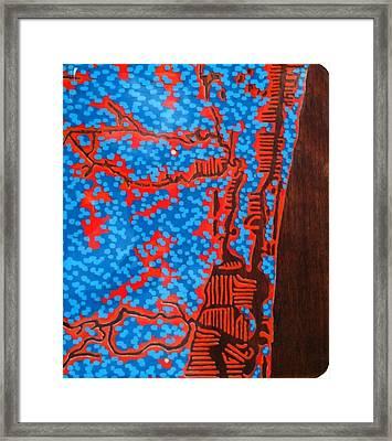 Ft. Lauderdale Resin   Framed Print by Jason Charles Allen