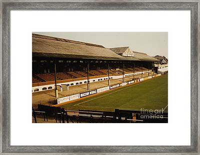Fulham - Craven Cottage - East Stand Stevenage Road 2 - Leitch - August 1986 Framed Print by Legendary Football Grounds