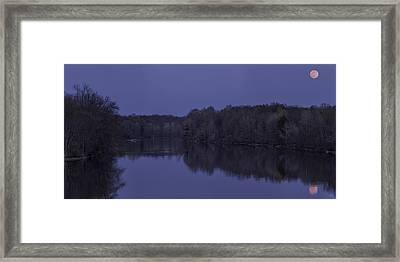 Full Flower Moon In May Framed Print by Everet Regal