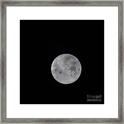 Full Moon Framed Print by Patrick  Short