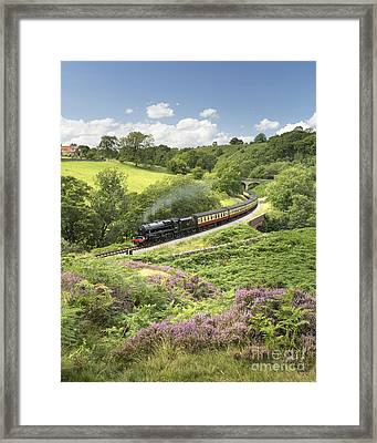 Full Steam Ahead For Eric Treacy Framed Print by John Potter