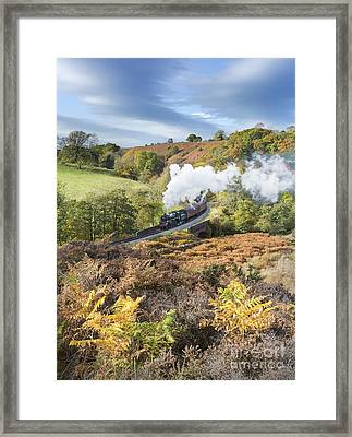 Full Steam Ahead Framed Print by John Potter