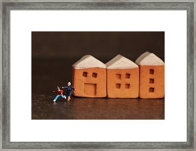 Fun Framed Print by Heike Hultsch