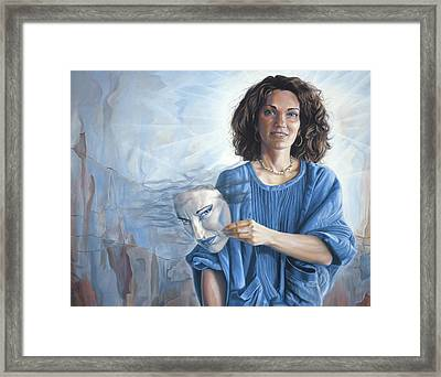 Fundamentally Good Framed Print by Lucie Bilodeau