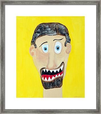 Funist Framed Print by Sal Marino