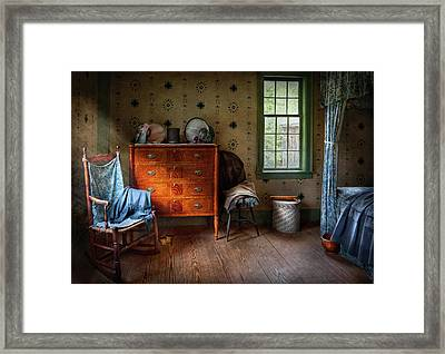 Furniture - Chair - American Classic Framed Print by Mike Savad