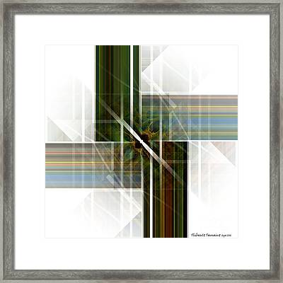 Future  Buildings Framed Print by Thibault Toussaint