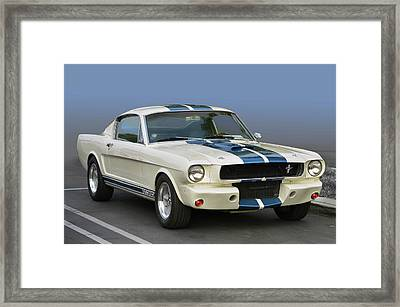 G T 350 Muscle Framed Print by Bill Dutting