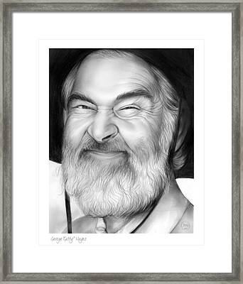 Gabby Hayes Framed Print by Greg Joens