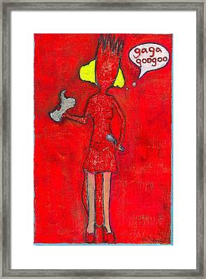 Gaga Googoo Framed Print by Ricky Sencion