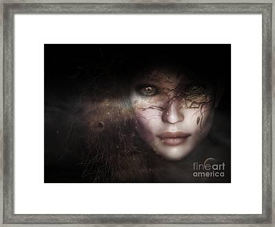 Gaia Goddess Framed Print by Shanina Conway