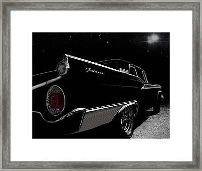 Galactic Cruiser Framed Print by Douglas Pittman