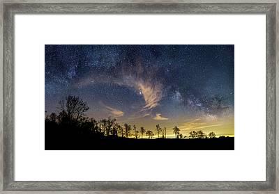 Galactic Skies Framed Print by Bill Wakeley