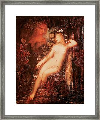 Galatea Framed Print by Gustave Moreau