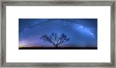 Galatika Framed Print by Mark Andrew Thomas