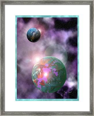 Galaxy 1 Framed Print by John Keaton