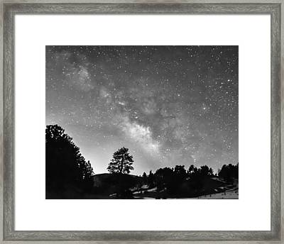 Galaxy Door Framed Print by James BO Insogna