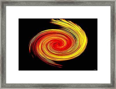 Galaxy Framed Print by Johann Todesengel