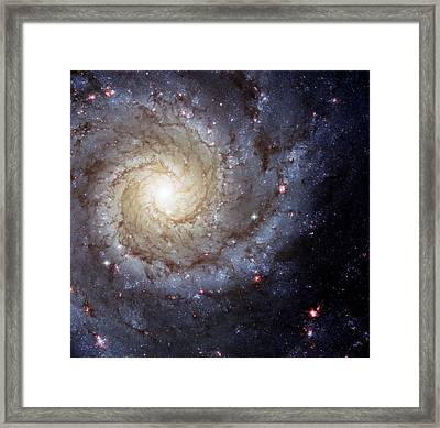 Galaxy Swirl Framed Print by The  Vault - Jennifer Rondinelli Reilly