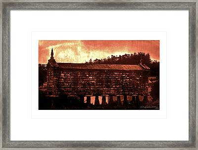 Galician Horreo Framed Print by Xoanxo Cespon
