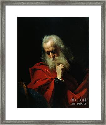 Galileo Galilei Framed Print by Ivan Petrovich Keler Viliandi