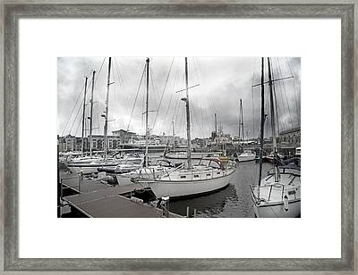 Galway Harbour Framed Print by Betsy C Knapp