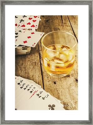Gamblers Still Life Framed Print by Jorgo Photography - Wall Art Gallery