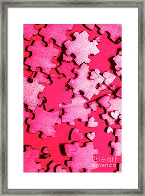 Game Of Romance Framed Print by Jorgo Photography - Wall Art Gallery