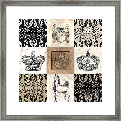 Game Of Thrones Framed Print by Debbie DeWitt