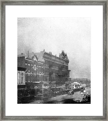 Garden City, Dust Storm Sequence, 1 Framed Print by Science Source