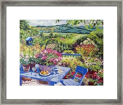 Garden Country Framed Print by David Lloyd Glover